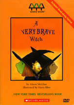 VERY BRAVE WITCH, A cover image