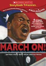 MARCH ON! THE DAY MY BROTHER MARTIN CHANGED THE WORLD cover image