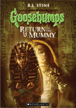 GOOSEBUMPS: RETURN OF THE MUMMY cover image