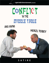 CONFLICT IN THE MIDDLE TABLE cover image