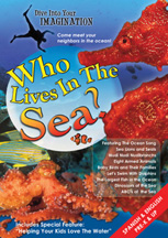 WHO LIVES IN THE SEA cover image