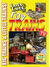 LOTS & LOTS OF TOY TRAINS cover image