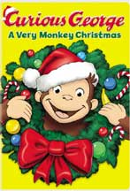 CURIOUS GEORGE: A VERY MONKEY CHRISTMAS cover image