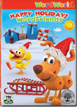 WORDWORLD: HAPPY HOLIDAYS WORD FRIENDS cover image
