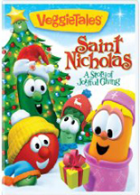 VEGGIE TALES: SAINT NICHOLAS - A STORY OF JOYFUL GIVING cover image