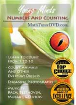 YOUNG MINDS - NUMBERS AND COUNTING cover image