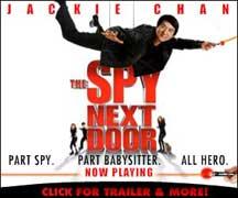 SPY NEXT DOOR, THE cover image