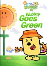 WOW! WOW! WUBBZY!: WUBBZY GOES GREEN cover image
