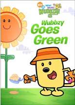 WOW! WOW! WUBBZY!: WUBBZY GOES GREEN cover image