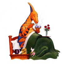 HOW DO DINOSAURS GET WELL SOON? cover image