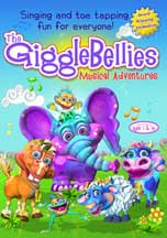 GIGGLEBELLIES MUSICAL ADVENTURES, THE cover image