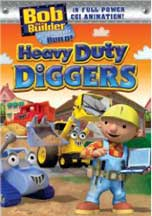 BOB THE BUILDER: HEAVY DUTY DIGGERS cover image