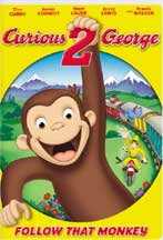 CURIOUS GEORGE 2: FOLLOW THAT MONKEY! cover image