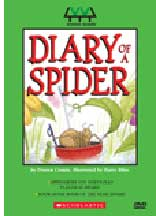 DIARY OF A SPIDER� AND MORE CUTE CRITTER STORIES cover image