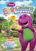 BARNEY: EGG-CELLENT ADVENTURES cover image