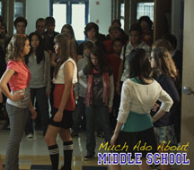 NO LIMIT KIDS: MUCH ADO ABOUT MIDDLE SCHOOL cover image