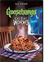 GOOSEBUMPS: GO EAT WORMS cover image