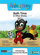 WILD ANIMAL BABY EXPLORERS: BATH TIME & OTHER STORIES cover image