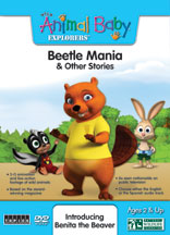 WILD ANIMAL BABY EXPLORERS: BEETLE MANIA & OTHER STORIES cover image