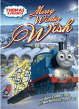 THOMAS & FRIENDS: MERRY WINTER WISH. cover image