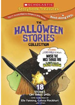 HALLOWEEN STORIES COLLECTION, SCHOLASTIC STORYBOOK TREASURES cover image
