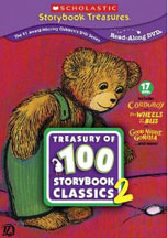 TREASURY OF 100 STORYBOOK CLASSICS, SCHOLASTIC STORYBOOK TREASURES cover image