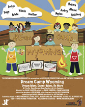 DREAM CAMP WYOMING cover image