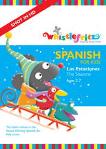 SPANISH FOR KIDS: LAS ESTACIONES (THE SEASONS) cover image