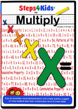 STEPS4KIDS TO MULTIPLY (NUMBERS 0-12) cover image
