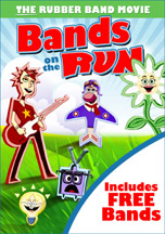 BANDS ON THE RUN: THE RUBBER BAND MOVIE cover image