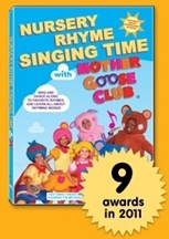 NURSERY RHYME SINGING TIME WIITH MOTHER GOOSE CLUB cover image