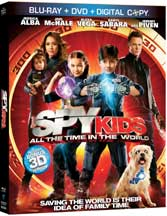 SPY KIDS: ALL THE TIME IN THE WORLD cover image