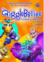 GIGGLEBELLIES MUSICAL ADVENTURES VOLUME 2, THE cover image