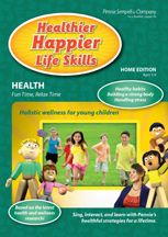 HEALTHIER HAPPIER LIFE SKILLS: HEALTH: FUN TIME, RELAX TIME cover image