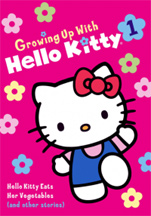 GROWING UP WITH HELLO KITTY 1 cover image