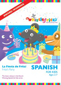 SPANISH FOR KIDS: LA FIESTA DE FRITZI cover image