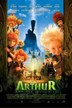 ARTHUR AND THE INVISIBLES (HDNET) cover image