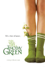 ODD LIFE OF TIMOTHY GREEN, THE cover image