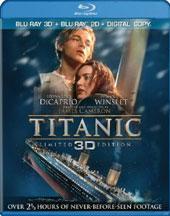 TITANIC (BLU-RAY3D, BLU-RAY, DIGITAL COPY) cover image