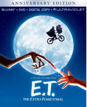 E.T. THE EXTRA-TERRESTRIAL ANNIVERSARY EDITION (BLU-RAY, DVD, DIGITAL, UV) cover image