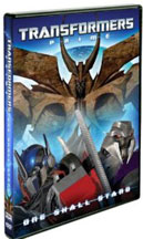 TRANSFORMERS PRIME: ONE SHALL STAND cover image