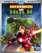 IRON MAN AND HULK: HEROES UNITED cover image
