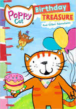 POPPY CAT: BIRTHDAY TREASURE AND OTHER ADVENTURES cover image