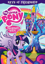 MY LITTLE PONY FRIENDSHIP IS MAGIC: THE KEYS OF FRIENDSHIP cover image