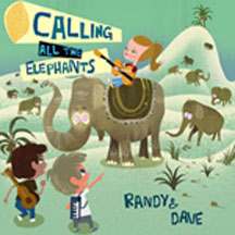 CALLING ALL THE ELEPHANTS cover image