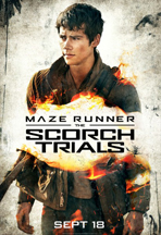 MAZE RUNNER: THE SCORCH TRIALS cover image