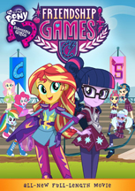 MY LITTLE PONY: EQUESTRIA GIRLS: FRIENDSHIP GAMES (DVD/BLU-RAY) cover image