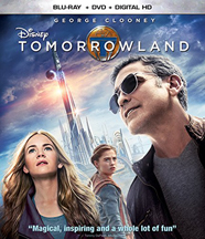 TOMORROWLAND (DVD) cover image