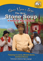 ONCE UPON A SIGN: STONE SOUP cover image