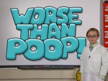 WORSE THAN POOP! cover image